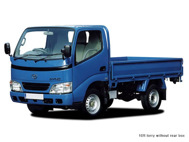 10 Ft Open Lorry - Moving Cost Guide In Singapore