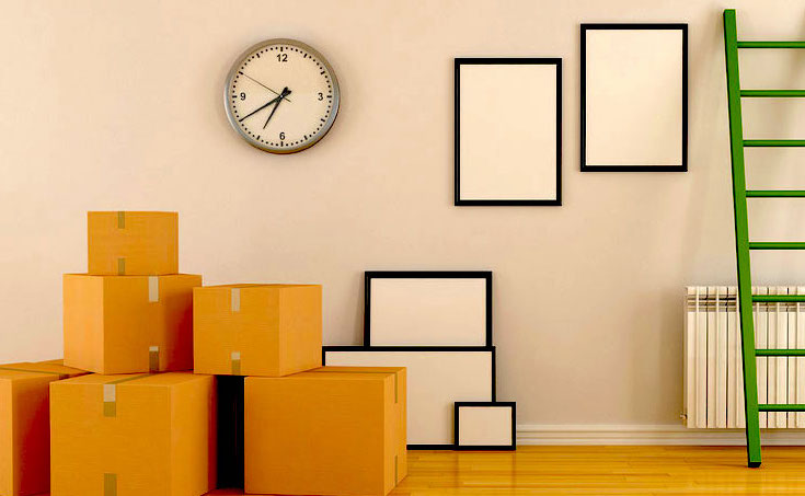 Boxes for home moving