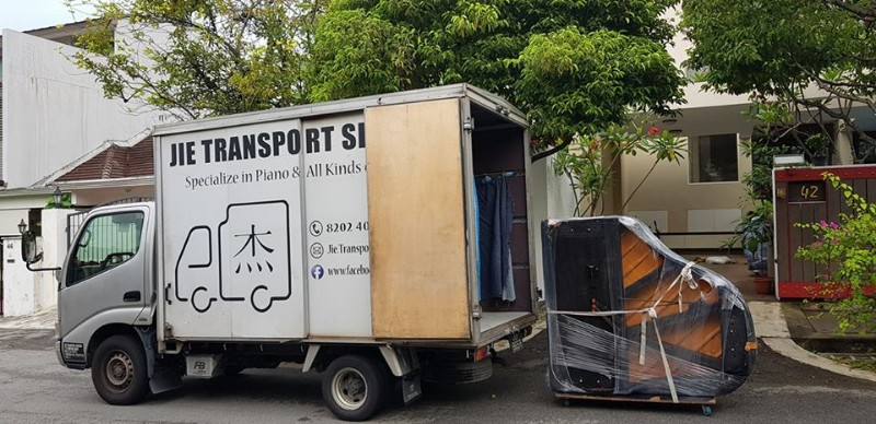 jie transport piano movers - Moving Cost Guide In Singapore