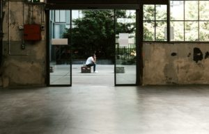 concrete floor in industrial look 300x193 - Everything To Know About Cement Screed & Concrete Flooring
