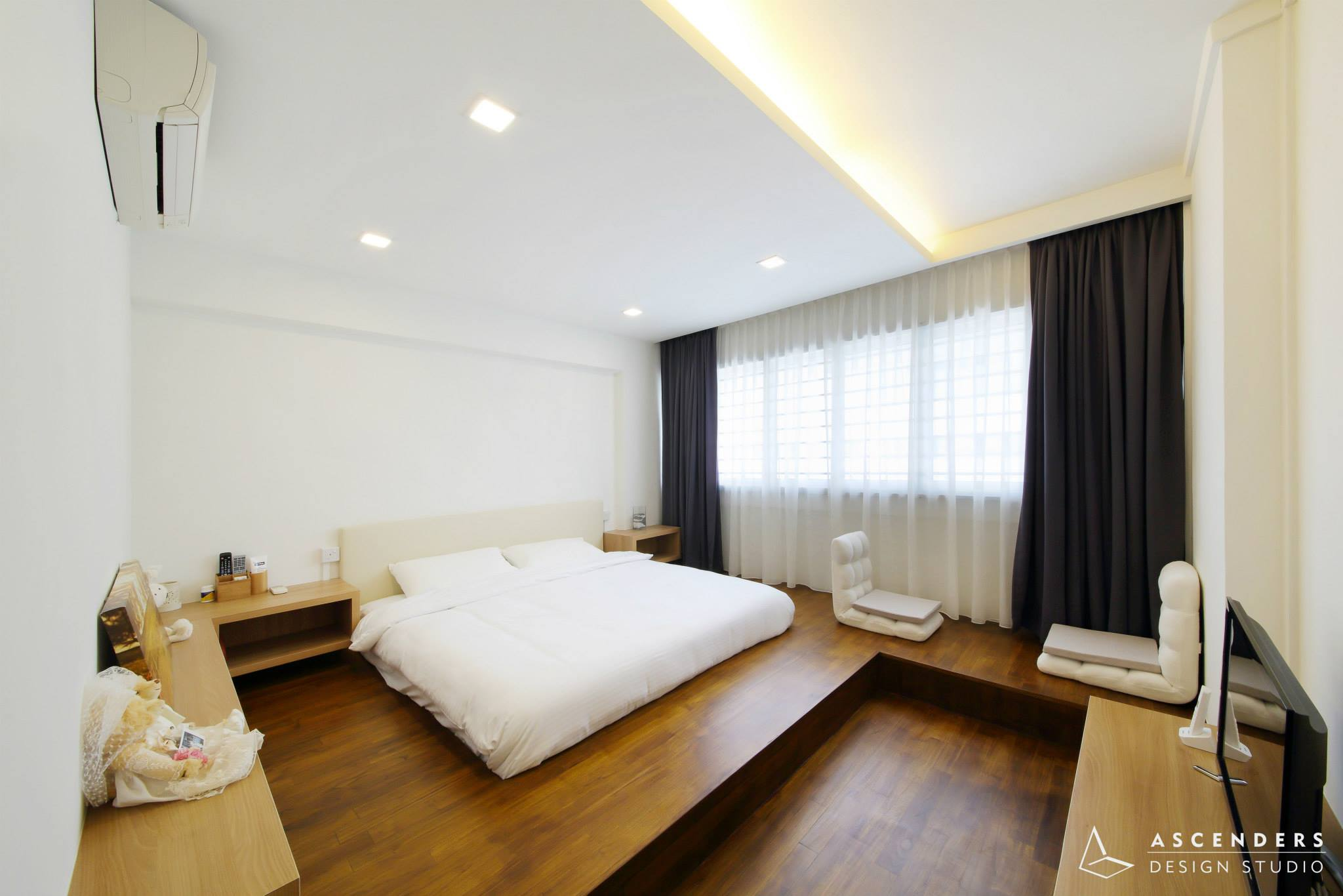 4roomTampines Ascenders1 - Wood in Interior Design and 5 Beautiful Homes with Wooden Flooring